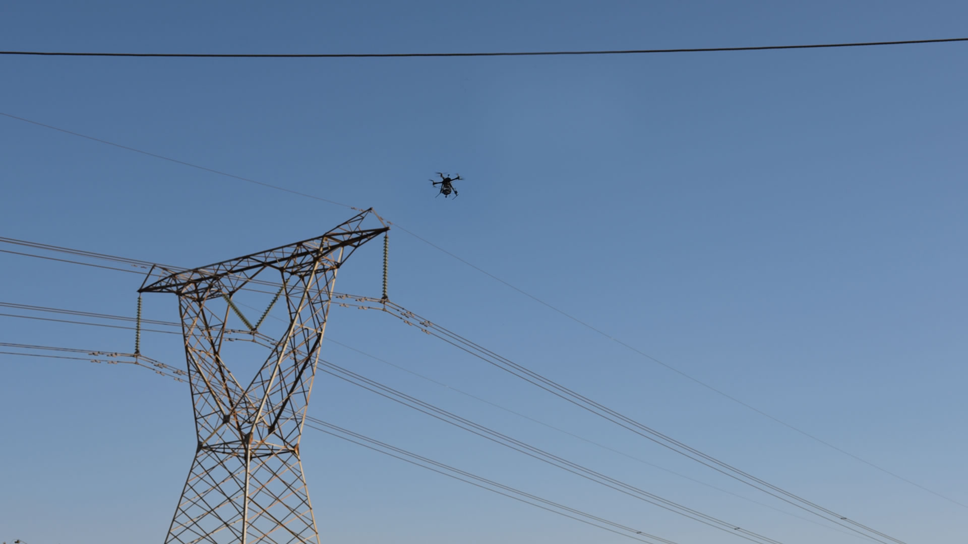 Drones for powerline inspection - Aerialtronics